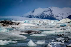 Jokulsarlon Ice Flows