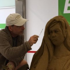 Sand sculpture in Brunel